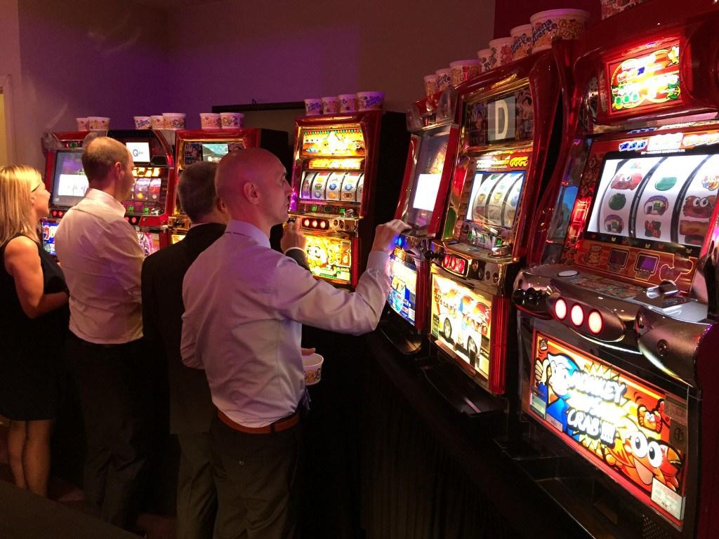Slotmachines huren van Casinohuren.nl