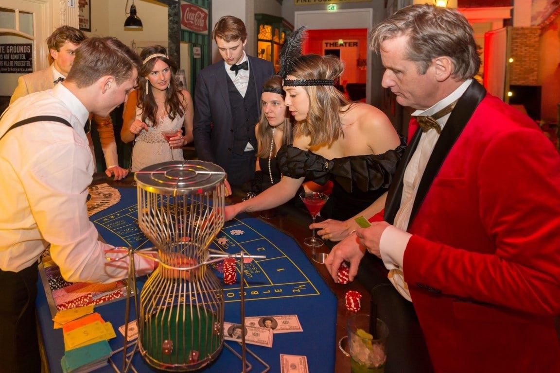 dobbel spel voor feestavonden met casinohuren.nl