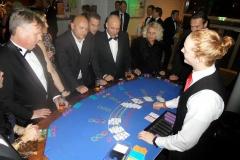 Casinotafel van Casinohuren.nl op een gala