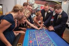Roulette van Casinohuren.nl tijdens de bruiloft