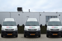 De bedrijfsbussen van Casinohuren.nl