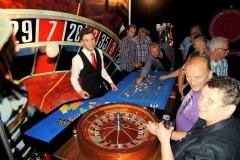Roulettetafel op een vrijwilligersavond van casinohuren.nl